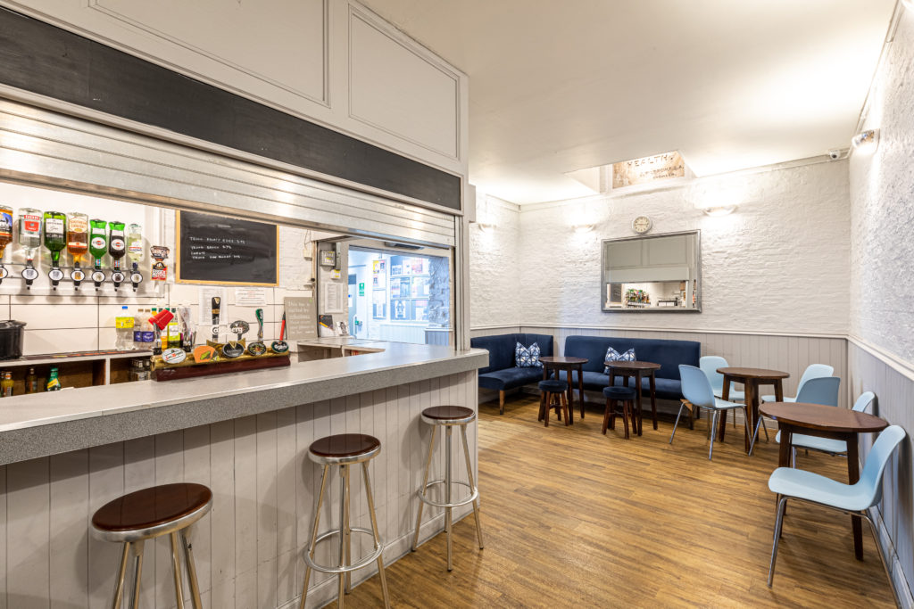 Pump House Colne River Studio bar